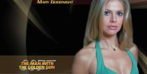 "Britt Ekland in ""The Man with the golden gun""."